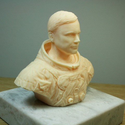 astronaut_02.jpg Download free STL file Astronaut Bust • 3D printing design, LSMiniatures
