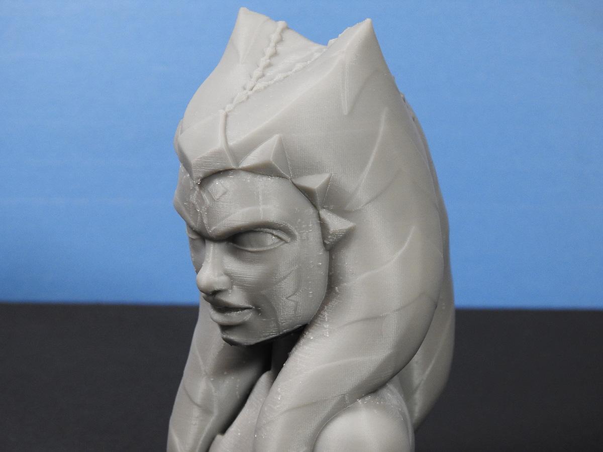 DSCN4322_fix.jpg Download free STL file Ahsoka Tano Bust • Object to 3D print, LSMiniatures