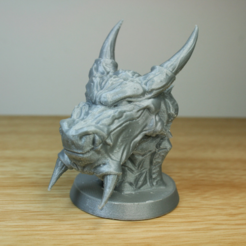 Free 3d printer model  Snow Dragon , LSMiniatures