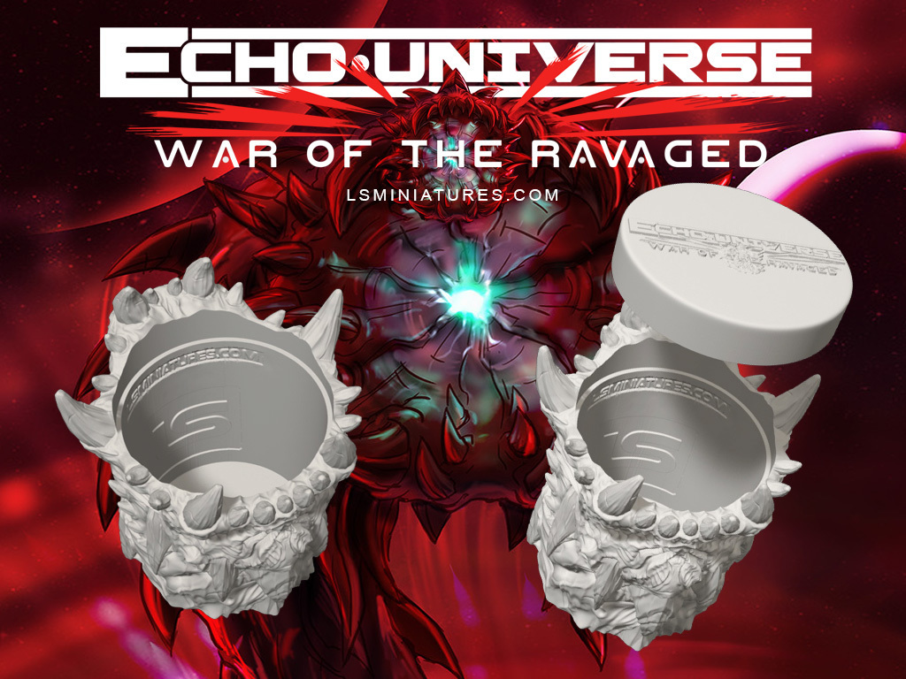 WOTR_cup_concept.jpg Download free STL file War Of The Ravaged - Dice Cup/Shaker • 3D print design, LSMiniatures