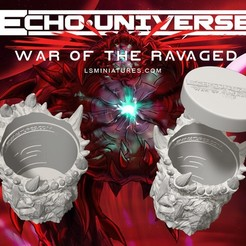 Download free STL file War Of The Ravaged - Dice Cup/Shaker • 3D print design, LSMiniatures