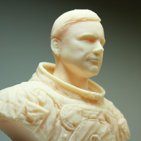 Download free 3D printer designs Astronaut Bust, LSMiniatures