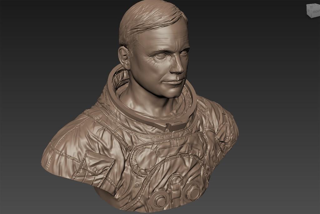 437c6501610740ddb38eff4ae8baf2c9_display_large.jpg Download free STL file Astronaut Bust • 3D printing design, LSMiniatures