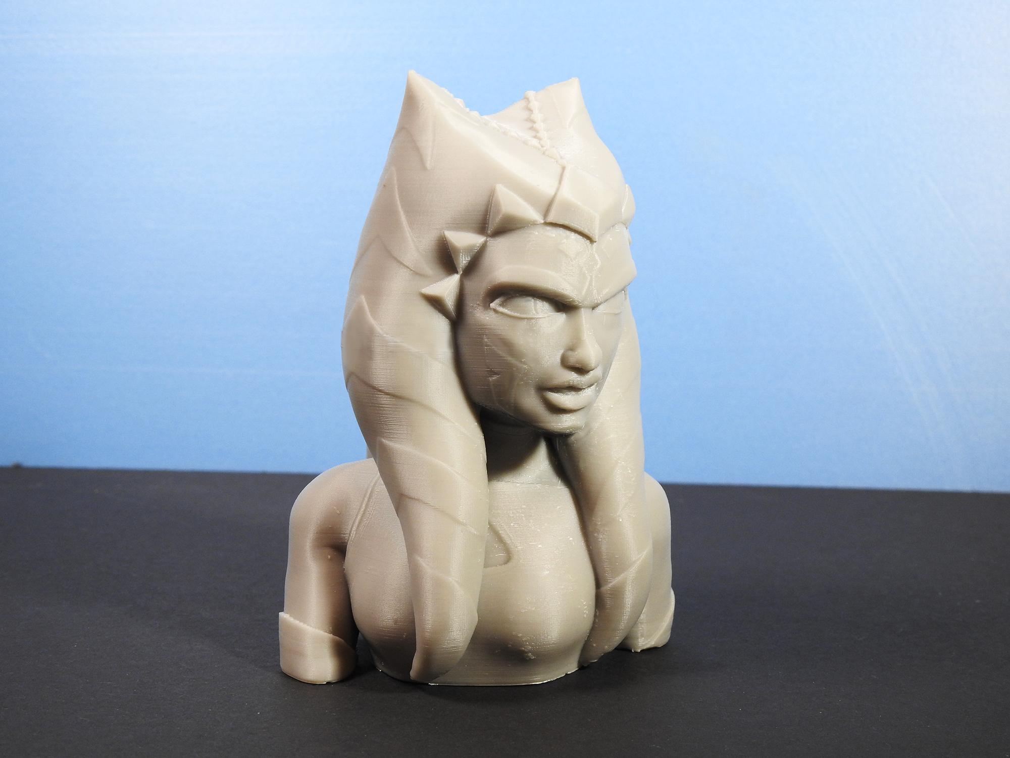 DSCN4311_fix.jpg Download free STL file Ahsoka Tano Bust • Object to 3D print, LSMiniatures