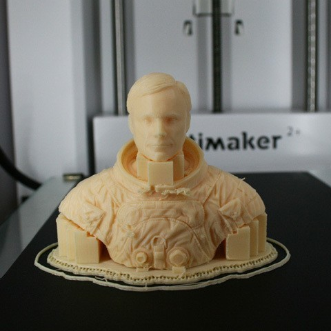 astronaut_07.jpg Download free STL file Astronaut Bust • 3D printing design, LSMiniatures