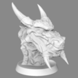 Download free 3D printer model  Snow Dragon , LSMiniatures