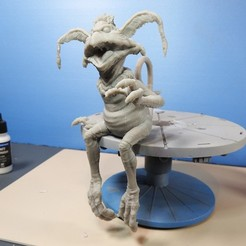 Download free 3D printer model Salacious Crumb- from Return Of The Jedi. Kit version, seated., LSMiniatures