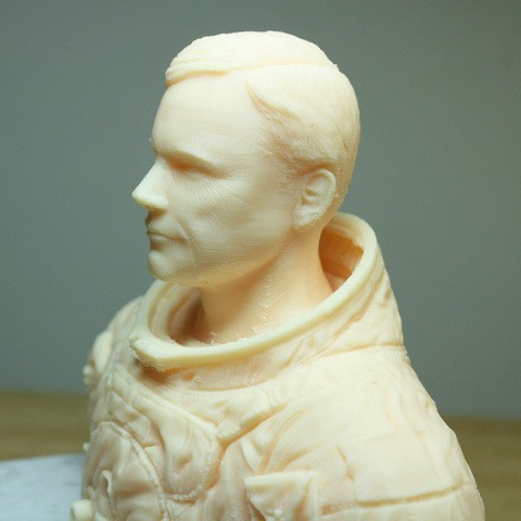 astronaut_03.jpg Download free STL file Astronaut Bust • 3D printing design, LSMiniatures
