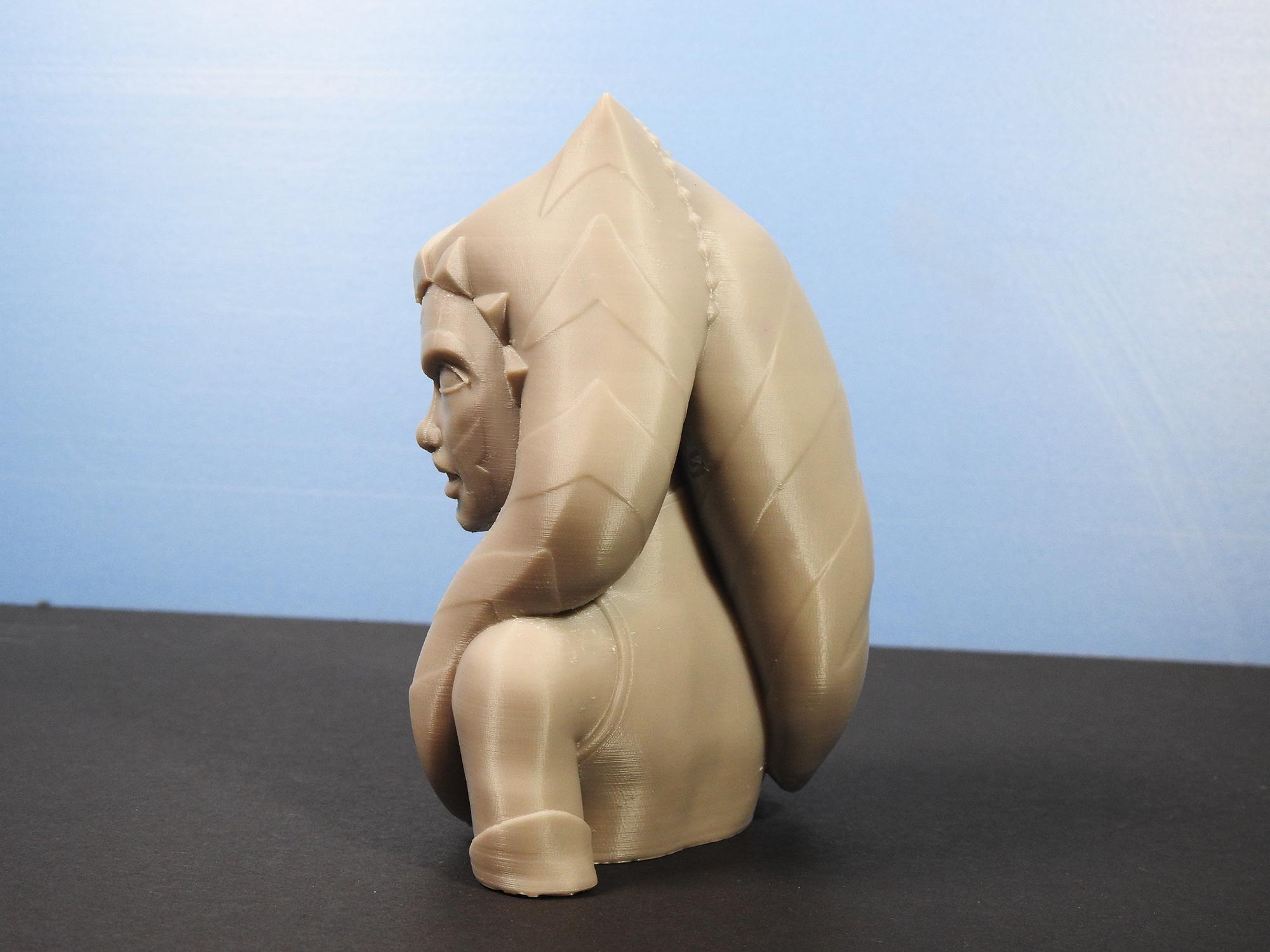 DSCN4316_fix.jpg Download free STL file Ahsoka Tano Bust • Object to 3D print, LSMiniatures