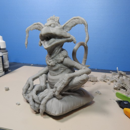 Download free STL files Salacious B. Crumb from Return Of The Jedi, LSMiniatures