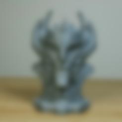 Download free 3D printer designs Sorcerer Bust, LSMiniatures