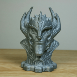 Download free 3D printer designs Sorcerer Bust, LSMiniatures