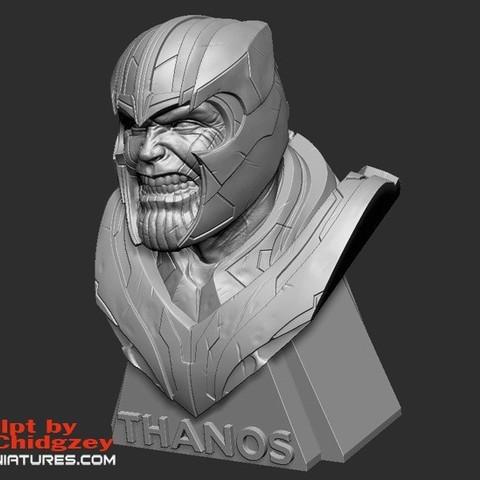 Thanos Bust-from Avengers Endgame