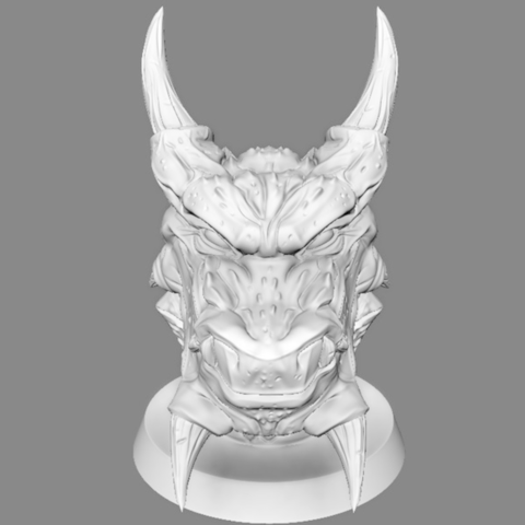 Capture d'écran 2017-07-27 à 16.59.41.png Download free OBJ file  Snow Dragon  • 3D printing model, LSMiniatures