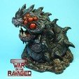 Free 3D printer files Ravager Worm-War Of The Ravaged, LSMiniatures