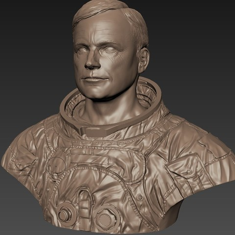 2a889a3345d058a49e088ba68b469019_display_large.jpg Download free STL file Astronaut Bust • 3D printing design, LSMiniatures
