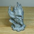 Plan 3D gratuit Buste de sorcier, LSMiniatures