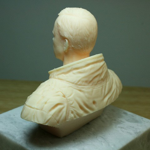 astronaut05.jpg Download free STL file Astronaut Bust • 3D printing design, LSMiniatures