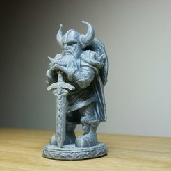 Free 3D print files Viking Warrior, LSMiniatures