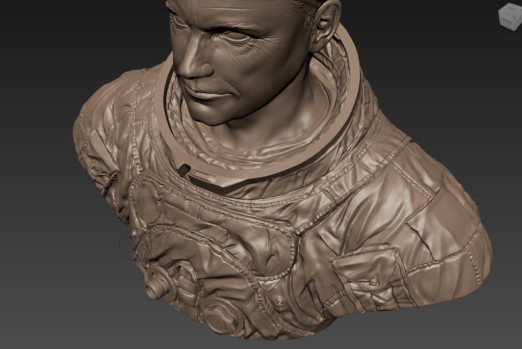 ecfd9e8d971faee08db50bb259233101_display_large.jpg Download free STL file Astronaut Bust • 3D printing design, LSMiniatures