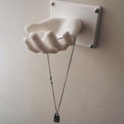 1.png Download free STL file Hand Coat Hanger • 3D printer template, XTG