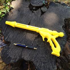 Download 3D printing designs Jango Fett Blaster, Easton3D