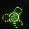 Download free STL file 608 fidget dual colour Spiral Spinner • 3D printer model, Easton3D