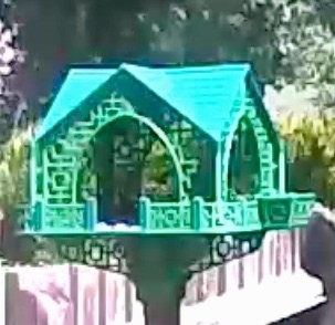 IMG_0176.JPG Download STL file Pagoda Bird House • 3D printable template, Easton3D