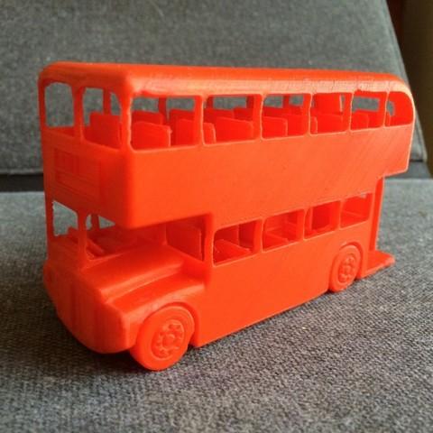 Descargar archivos 3D gratis Autobús Londres Routemaster, Easton3D