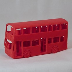 Free 3D print files New London Bus, Easton3D