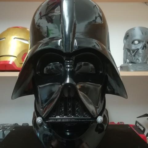 3d Printing Darth Vader 3d Printable Reveal Helmet ・ Cults