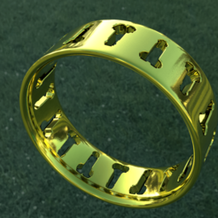 ANYCUBIC3D.png Download free STL file anyculbite ring • 3D printer object, ShadO