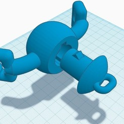 Download STL file Opening gag for breathing / drinking / feeding • 3D printing template, zlo2k