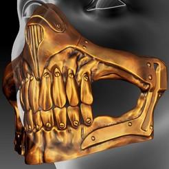 20200422_145553.jpg Download STL file Mad Mask • 3D printing model, Nymuh