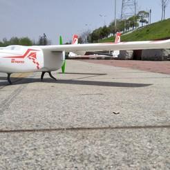 modelos 3d Patines de aterrizaje del avión RC, alishanmao