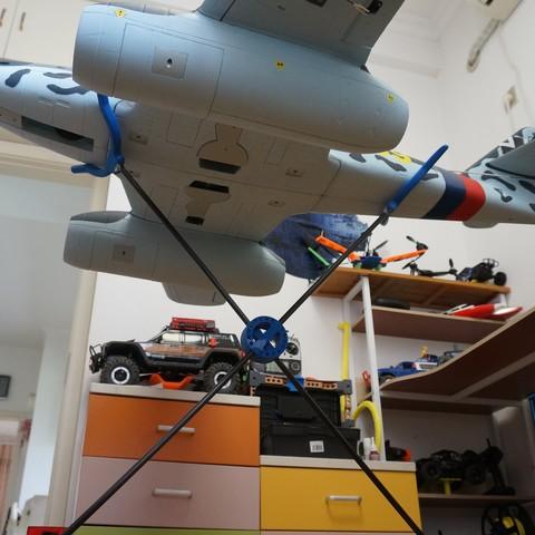 DSC07292.JPG Download STL file RC Planes Stands • 3D print design, alishanmao