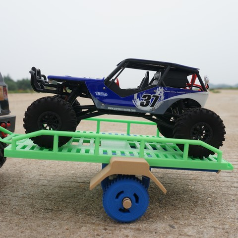 3d printer designs Mini Trailer for RC Vehicles, alishanmao