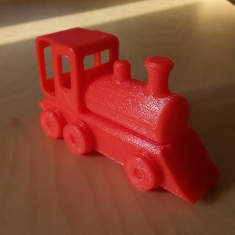 Download STL file Toy Train Engine • 3D printable design, alishanmao