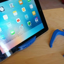 Télécharger STL Porte-tablette simple, alishanmao