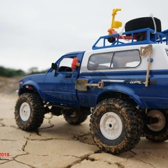 18.jpg Download STL file Off Road RC Rock Crawler Accessories 4x4 RC Vehicel Accessories • 3D printer design, alishanmao