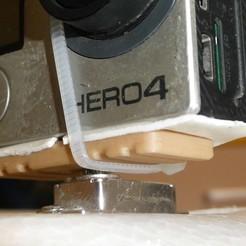 Télécharger fichier 3D gratuit Plaque de base de caméra HD FPV Camera pour Pan Servo, alishanmao