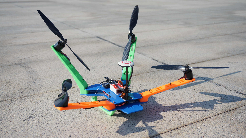 DSC07231.jpg Download STL file Cruiser Quadcopter • 3D printable template, alishanmao
