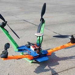 diseños 3d Cruiser Quadcopter, alishanmao
