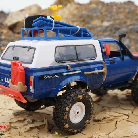 16.jpg Download STL file Off Road RC Rock Crawler Accessories 4x4 RC Vehicel Accessories • 3D printer design, alishanmao
