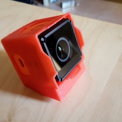 Download free 3D printer designs RunCam 3 Mount with two different angles, alishanmao