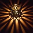 Capture d'écran 2017-07-24 à 15.29.38.png Download STL file Tea Time Candle Romantic Light Shade • 3D printing model, alishanmao