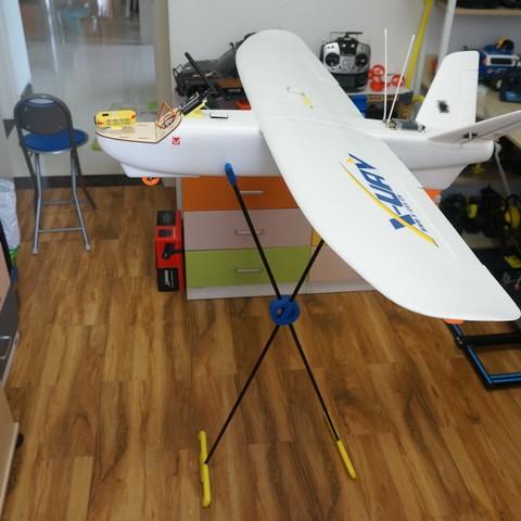 DSC07296.JPG Download STL file RC Planes Stands • 3D print design, alishanmao
