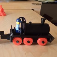 Télécharger STL Toy Train Engine et Coal Car, alishanmao