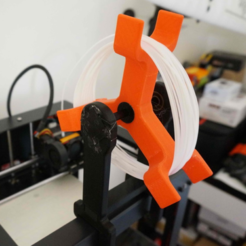 3d printer files Spinning Filament Holder, alishanmao