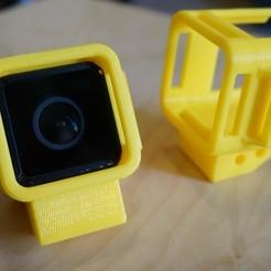 Télécharger plan imprimante 3D GoPro Session Mount RunCam 3 Support, alishanmao